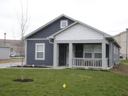 A new home sits on Priscilla Ave. built by Eastern