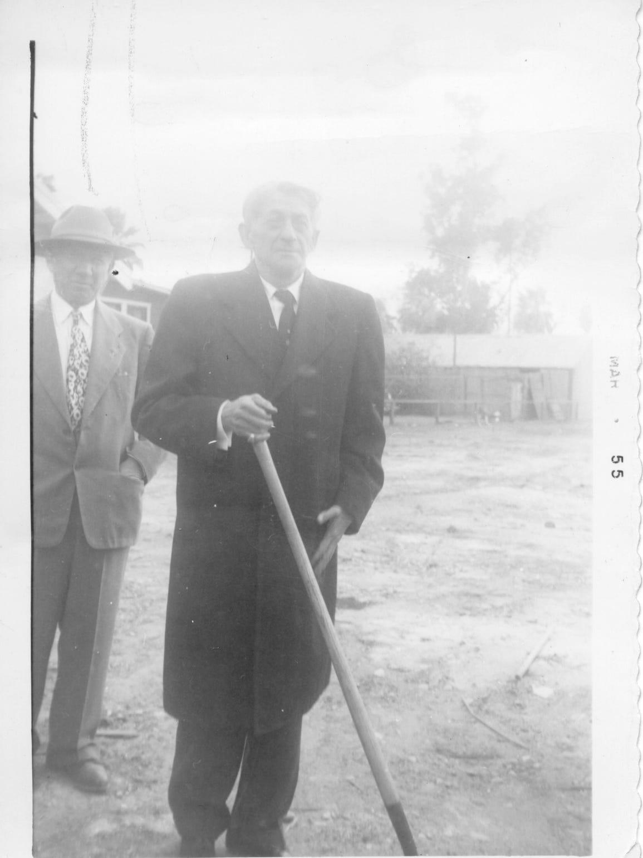 A photo taken March 20, 1955 shows Rabbi Abraham Lincoln