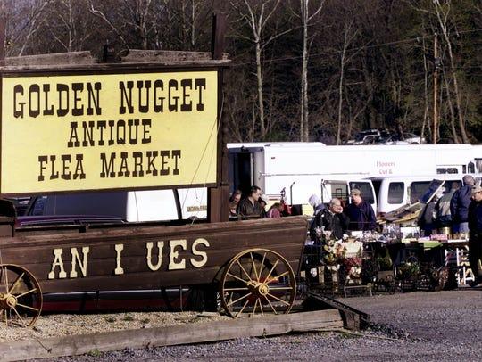 Golden Nugget Antique Flea Market in Lambertville.
