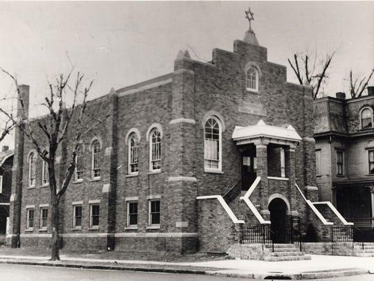 The original Hackensack Hebrew Institute, on State
