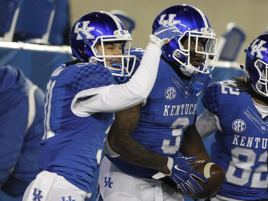 NCAA Football: Charlotte at Kentucky