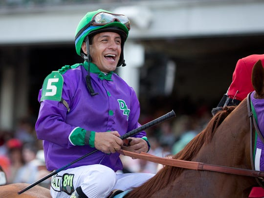 Victor Espinoza was surprised that War Emblem got him within one victory of the Triple Crown in 2002. He's kind of expecting it from California Chrome.