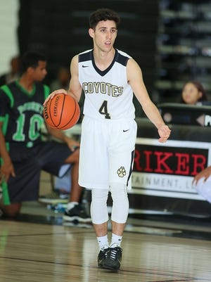 Jack Roggin of Calabasas was named the MVP of the Marmonte League in boys basketball.