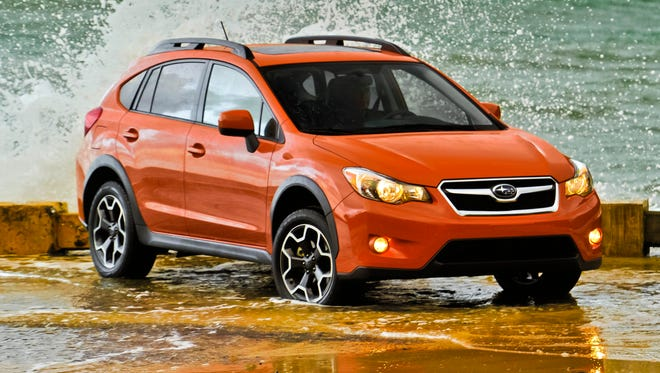 Subaru's XV Crosstrek small SUV is among it strongest sellers, helping bump the brand's  sales to a January record.