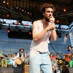DOVER, DE - JUNE 22:  Alex Ebert of the band Edward Sharpe and the Magnetic Zeros performs onstage at the Firefly Music Festival at The Woodlands of Dover International Speedway on June 22, 2013 in Dover, Delaware.  (Photo by Theo Wargo/Getty Images for Firefly Music Festival)