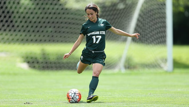 Sarah Kovan, a senior captain for the MSU women's soccer team, has been named a Rhodes Scholar.