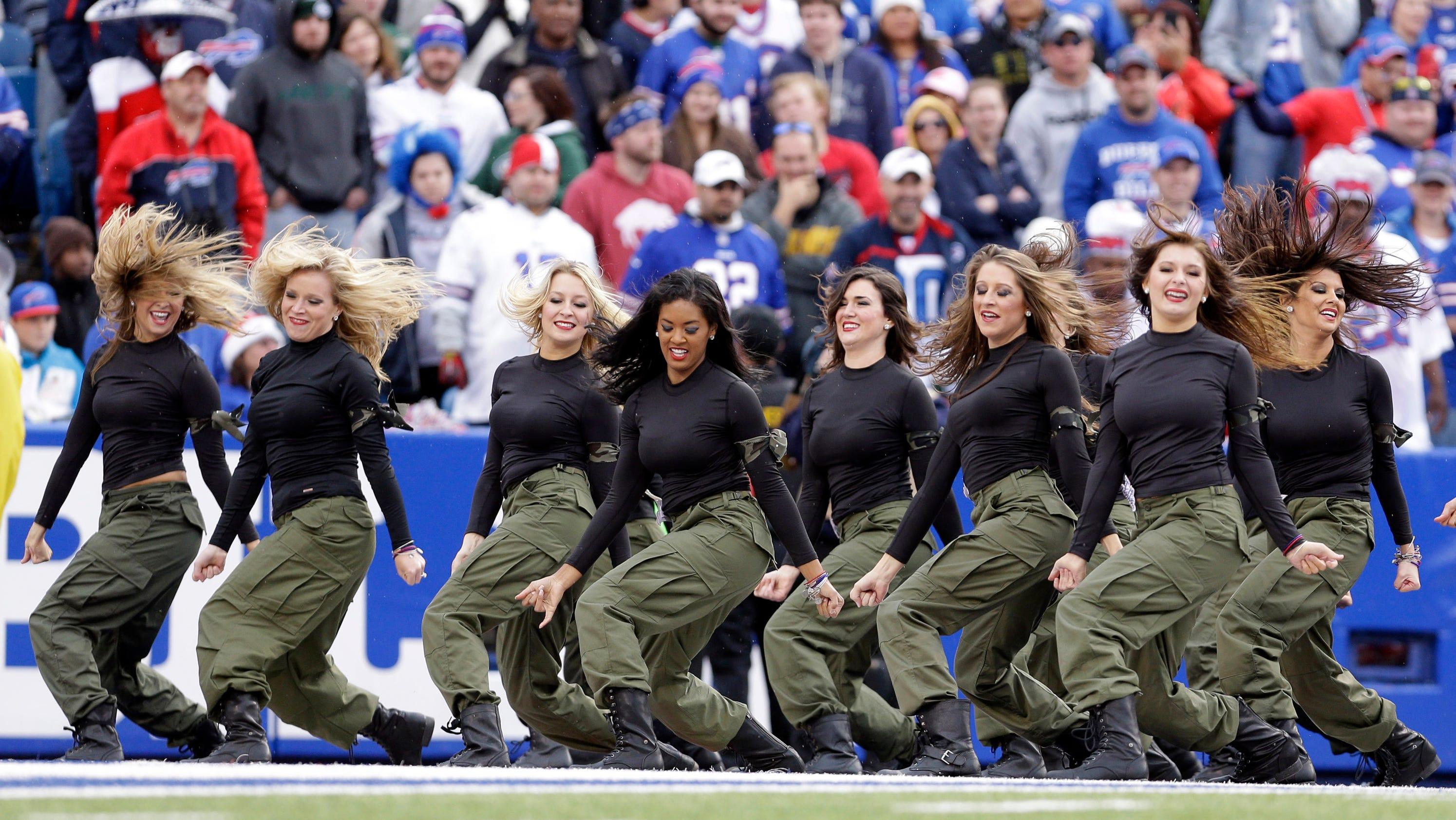 buffalo bills cheerleaders suspend operations