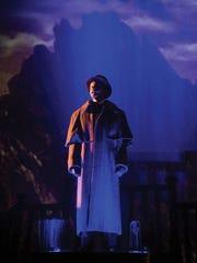 Brendan Marshall-Rashid plays Harker in the Utah Shakespeare