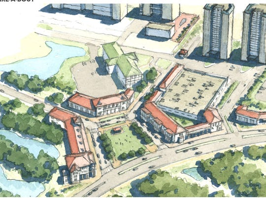 Consultants working with Escambia County's development