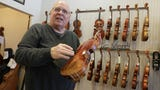 Today's video from Jim Matthews introduces you to Larry Frye, a luthier in Green Bay whose passion for music plays out daily as he cares for and repairs fine string instruments at the String Instrument Workshop. It's been his life's work for 37 years