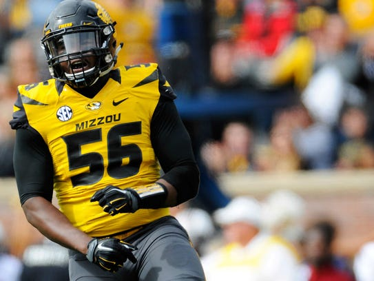 Former Missouri defensive end Walter Brady has a second
