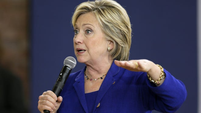 Hillary Rodham Clinton has spent time as the Democrats' front-runner for the presidential nomination.