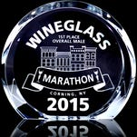 The Wineglass Marathon is donating thousands of dollars to local organizations.