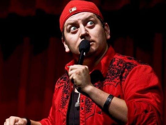 Stand-up comic Raymond Orta will perform at 8 p.m.