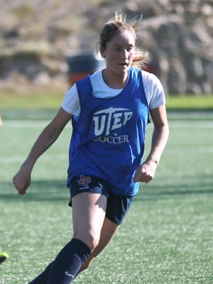UTEP senior Angela Cutaia is the team's leading scorer this season.