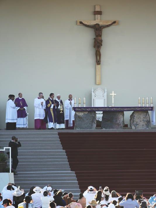 POPE MASS JUAREZ