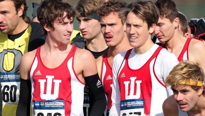 Evan Esselink and IU's track and field team are preparing for the Big Ten Track and Field Championship in East Lansing, Mich.