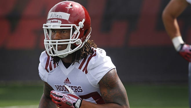 IU safety and former Ben Davis star Antonio Allen was arrested Tuesday on drug dealing charges, and was suspended from the team.