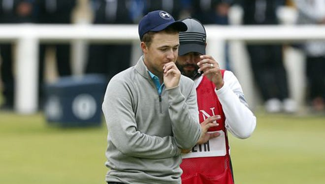 Jordan Spieth finished tied for fourth, one shot back of the leader (three-way playoff) at the British Open.