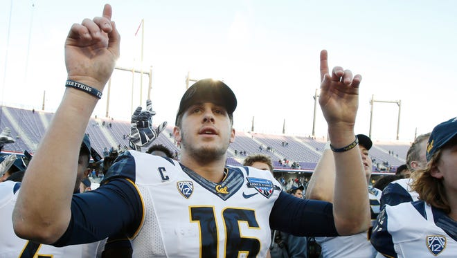 Will Cal's Jared Goff be the first pick in Thursday's NFL Draft?