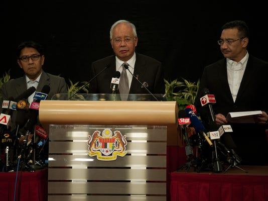 No survivors: Malaysia Flight 370 'ended' in Indian Ocean