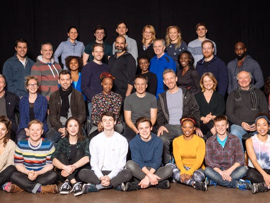 """The cast of """"Harry Potter and the Cursed Child."""""""