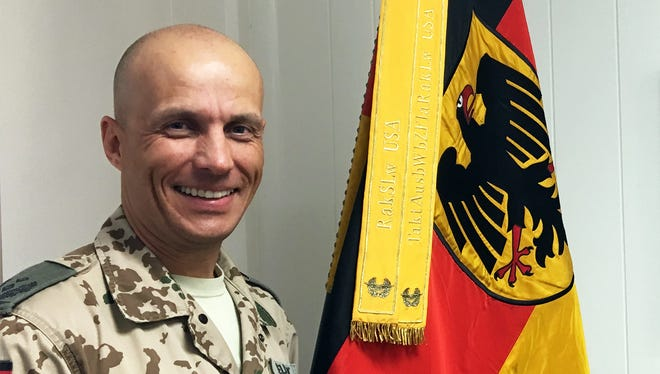 Lt. Col. Henri Neubert is the new deputy commander for the German air force's Air Defense Center at Fort Bliss. In that role, he oversees the center's day-to-day operations.