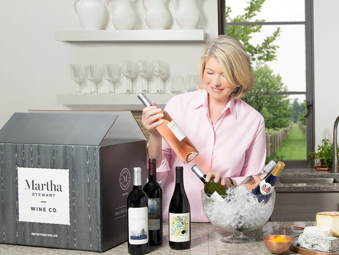 Martha Stewart Wine Co. launched on April 5 with more