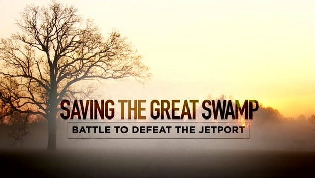 """""""Saving the Great Swamp — Battle to Defeat the Jetport"""" will be shown at 6:30 p.m. Wednesday, Feb.7, at the Environmental Education Center in Basking Ridge."""