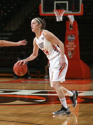 Bellevue graduate Carly Santoro is thriving as a sophomore for BGSU.