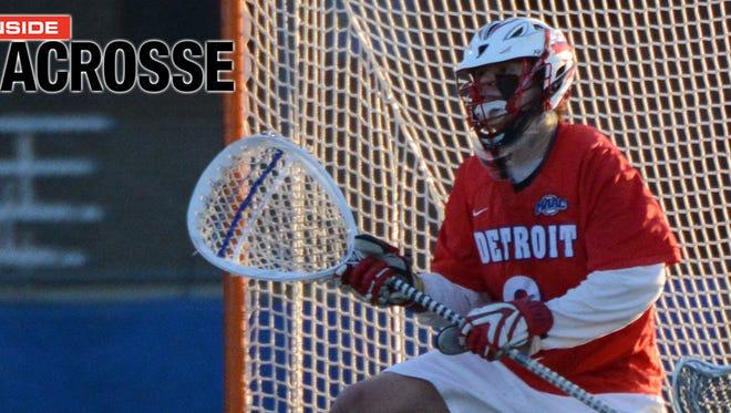 Christ School graduate Jason Weber is a senior for the University of Detroit Mercy lacrosse team.