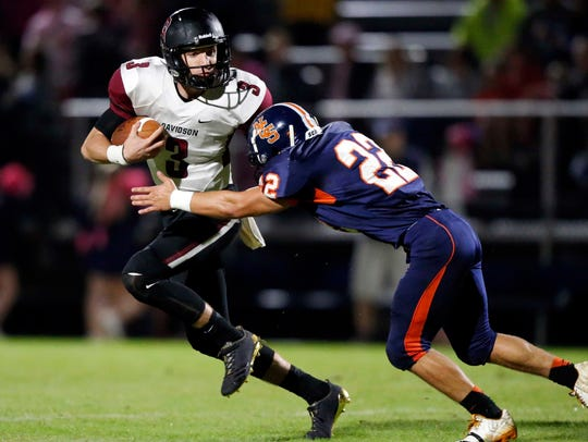 Davidson Academy quarterback Stone Norton has committed to Florida International.