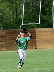 Clear Fork's Thomas Staab catches a pop-up fly during