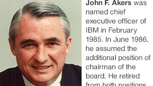 Former chief executive officer of IBM died Aug. 22, 2014 in Boston. The company paid tribute to him on its website.