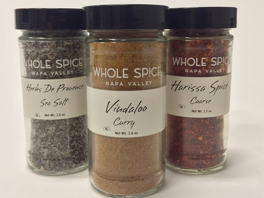Whole Spice of the Napa Valley offers a global selection of herbs and spices in blends and small batches. You can purchase the products online or in the company's shop in the Oxbow Public Market in the city of Napa.