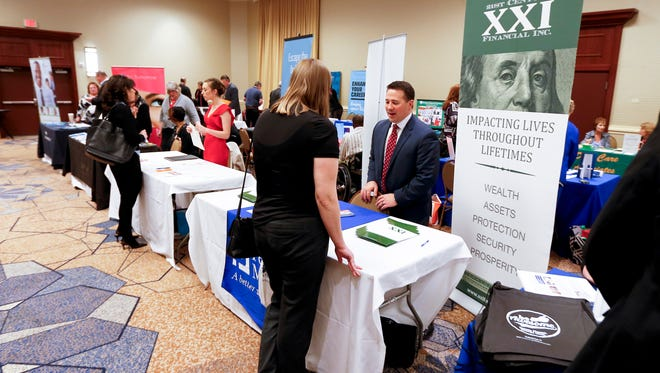 The low unemployment rate means companies are making extraordinary attempts to find and retain talent.  (AP Photo/Keith Srakocic) ORG XMIT: PAKS412