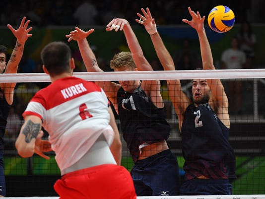 Olympics: Volleyball-Men's Team-Quarterfinal -USA vs POL