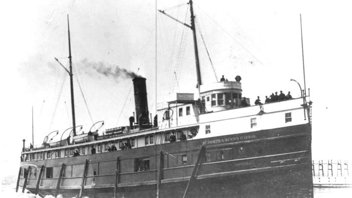 The SS Chicora, a steamship that operated in the Great