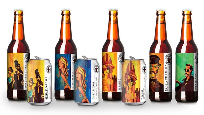 Atwater Brewing in Detroit is changing its labels to feature colorful paintings from local artist Tony Roko