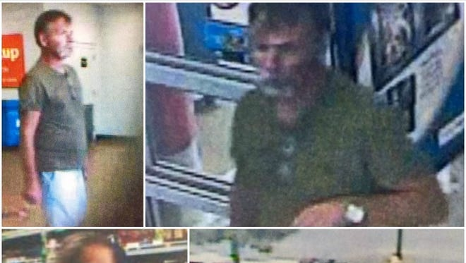 Las Cruces Crime Stoppers is offering a reward of up to $1,000 for information that helps identify the couple suspected of stealing the purse from the shopping cart of an 80-year-old woman on March 21, 2017, at a Walmart in Las Cruces.