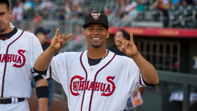 Francisco Mejía is one of the most recent additions to the El Paso Chihuahuas after a trade between the San Diego Padres and Cleveland Indians. He is one of MLB's top prospects.
