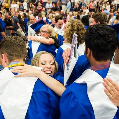 Spring Grove Area High School graduation ceremony Friday,
