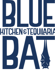 The new logo for Blue Bat Kitchen and Tequilaria, 249