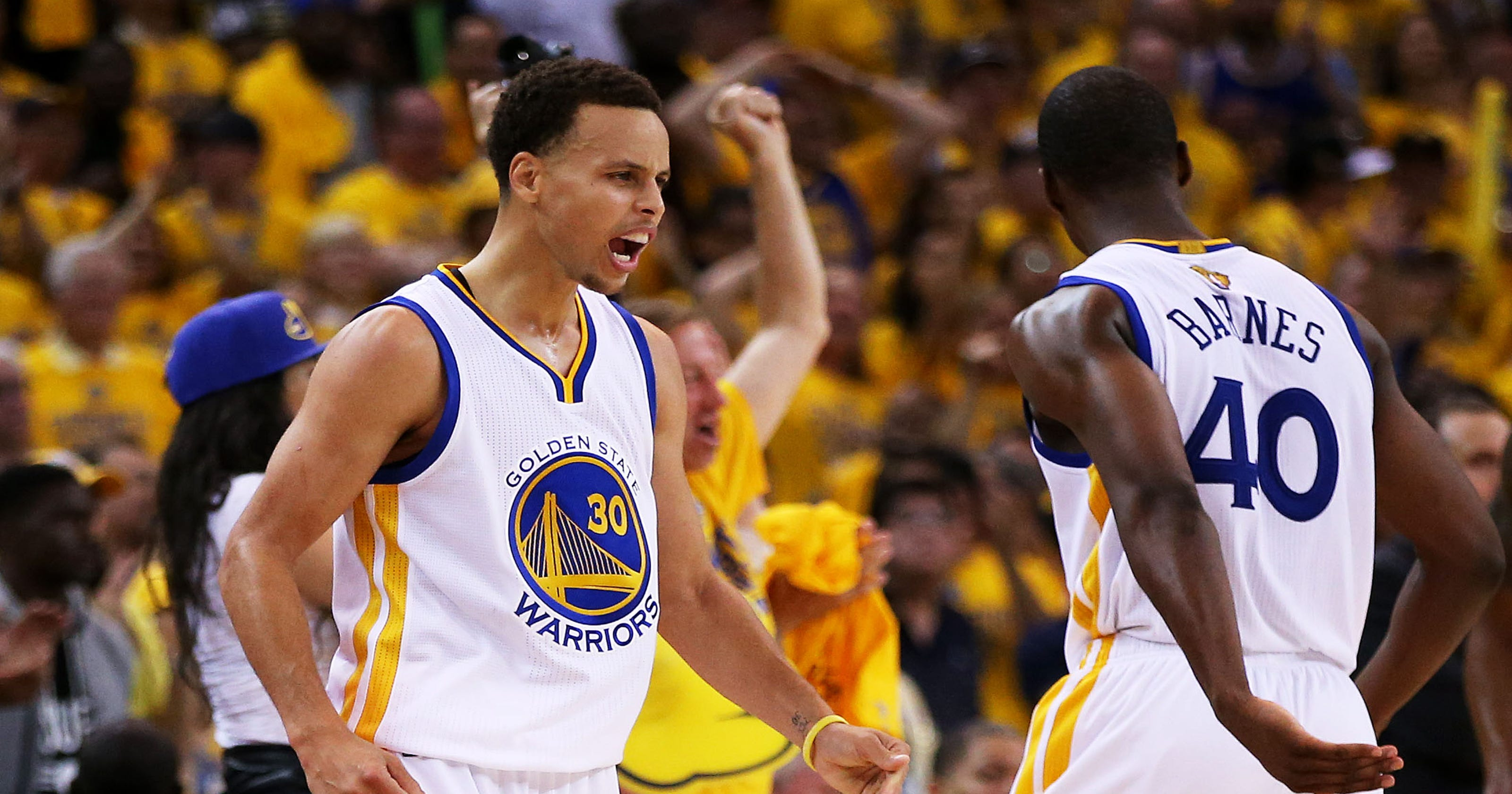 85259d418c20 Golden State Warriors win Game 1 108-100 vs. Cleveland Cavaliers