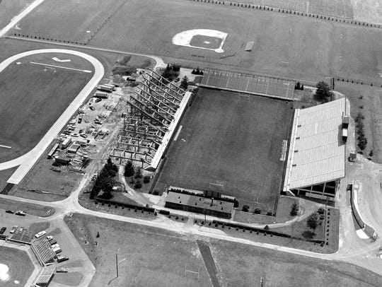Delaware Stadium, 1970