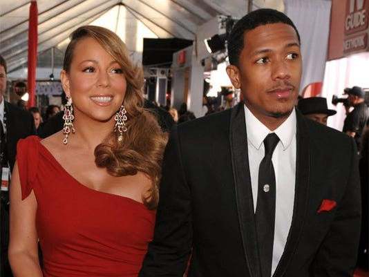 Nick Cannon and estranged wife Mariah Carey