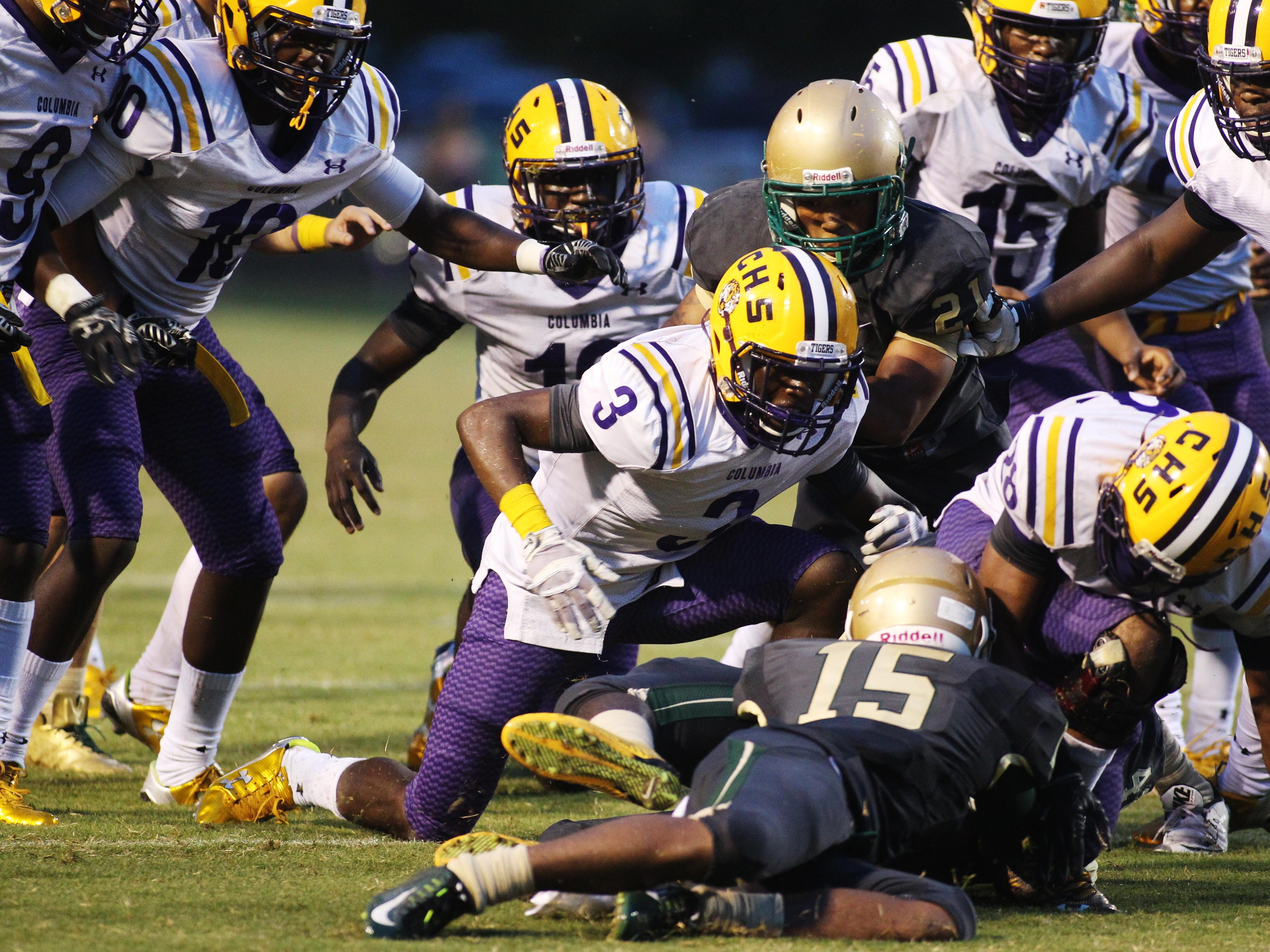 Lincoln and Lake City Columbia are familiar opponents. The two teams met for Trojans' second regular season game. Columbia won 23-14 but the both will play again Friday in a Region 1-7A semifinal playoff game.