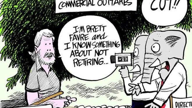 Brett Favre for Thad Cochran