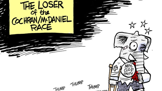 The true loser of the Cochran/McDaniel
