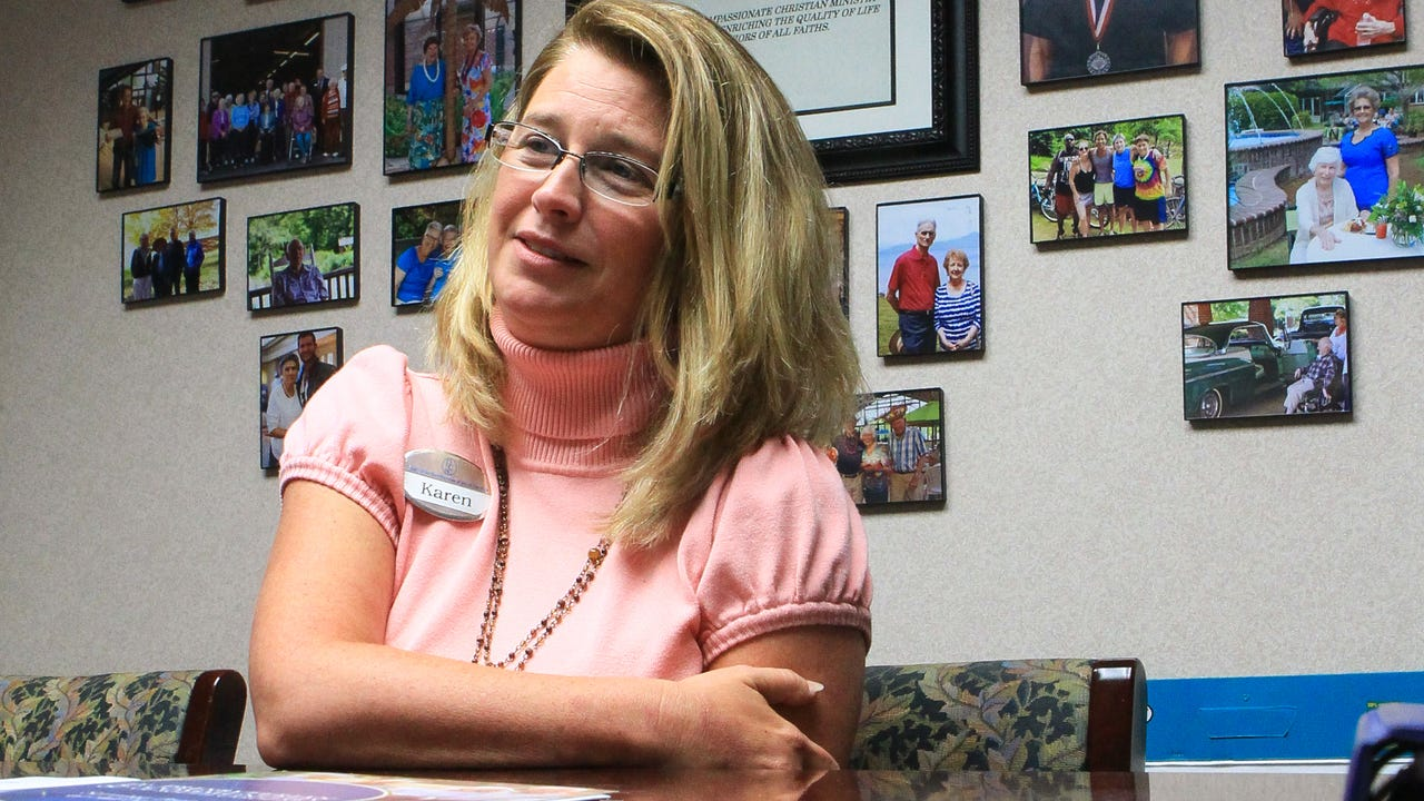 Karen Nichols, executive director of the Foothills Retirement Community, talks about the quality of care at the home in Easley.